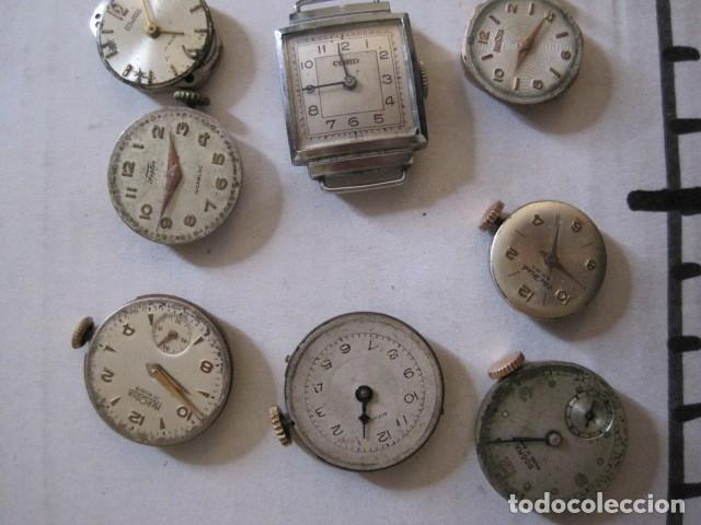 Recambios de relojes: LOTE RELOJES PULSERA ETC. PARA PIEZAS RECAMBIO ETC. -VER FOTOS - (V-13.662) - Foto 10 - 113817035