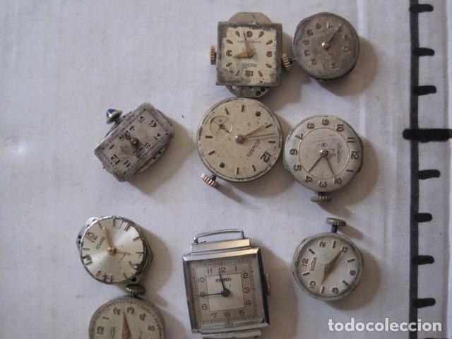 Recambios de relojes: LOTE RELOJES PULSERA ETC. PARA PIEZAS RECAMBIO ETC. -VER FOTOS - (V-13.662) - Foto 11 - 113817035