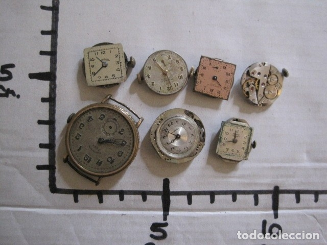Recambios de relojes: LOTE RELOJES PULSERA ETC. PARA PIEZAS RECAMBIO ETC. -VER FOTOS - (V-13.662) - Foto 20 - 113817035