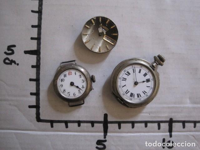 Recambios de relojes: LOTE RELOJES PULSERA ETC. PARA PIEZAS RECAMBIO ETC. -VER FOTOS - (V-13.662) - Foto 54 - 113817035