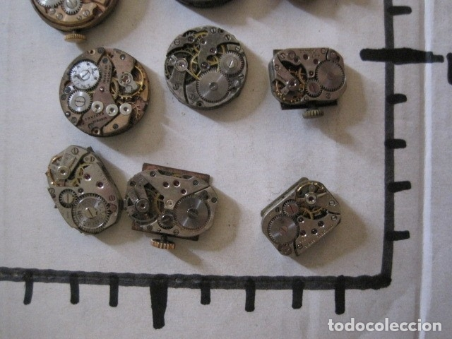 Recambios de relojes: LOTE RELOJES PULSERA ETC. PARA PIEZAS RECAMBIO ETC. -VER FOTOS - (V-13.662) - Foto 64 - 113817035