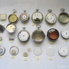 Ersatzteile für Uhren - LOTE RELOJES ANTIGUOS DE BOLSILLO PARA PIEZAS O REPARACION - 114033455