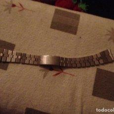 Recambios de relojes: CORREA DE ACERO INOXIDABLE PARA RELOJ.. Lote 114204403