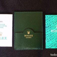Recambios de relojes: ROLEX OYSTER PERPETUAL CARTERA CON GARANTIA. Lote 114296795