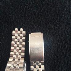 Recambios de relojes: PULSERA ORIGINAL DE BADUR ACERO. Lote 114693984