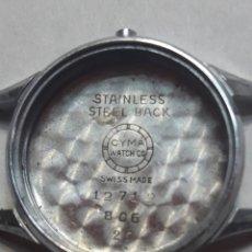 Recambios de relojes: CAJA CUERPO RELOJ ANTIGUO CYMA ORIGINAL. Lote 114705440