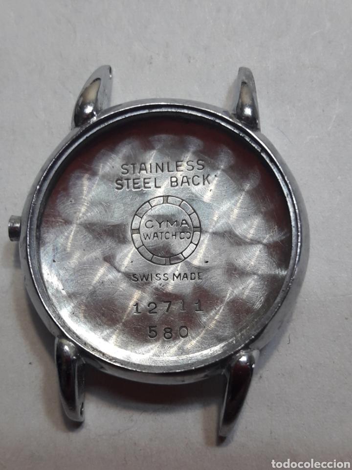 CAJA CUERPO RELOJ ANTIGUO CYMA ORIGINAL (Relojes - Recambios)
