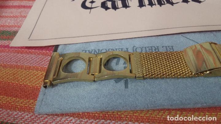 Recambios de relojes: Botito armis dorado estilo drivers, va desde 20mm a 15, stok de relojería antigua bien conservado - Foto 3 - 115584571