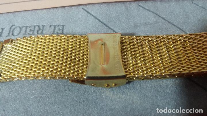 Recambios de relojes: Botito armis dorado estilo drivers, va desde 20mm a 15, stok de relojería antigua bien conservado - Foto 6 - 115584571