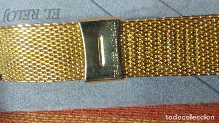 Recambios de relojes: Botito armis dorado estilo drivers, va desde 20mm a 15, stok de relojería antigua bien conservado - Foto 11 - 115584571
