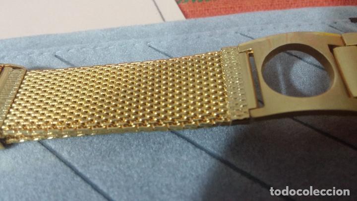Recambios de relojes: Botito armis dorado estilo drivers, va desde 20mm a 15, stok de relojería antigua bien conservado - Foto 13 - 115584571