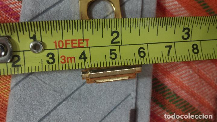 Recambios de relojes: Botito armis dorado estilo drivers, va desde 20mm a 15, stok de relojería antigua bien conservado - Foto 17 - 115584571