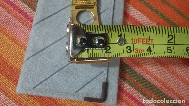 Recambios de relojes: Botito armis dorado estilo drivers, va desde 20mm a 15, stok de relojería antigua bien conservado - Foto 18 - 115584571