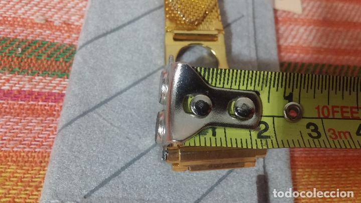 Recambios de relojes: Botito armis dorado estilo drivers, va desde 20mm a 15, stok de relojería antigua bien conservado - Foto 19 - 115584571
