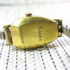 Recambios de relojes: GRAN TIMEX ELECTRICO CHPADO EN ORO 10 KILATES PARA REPARAR O PIEZAS IDEAL MANITAS!!!! LOTE WATCHES. Lote 116095187