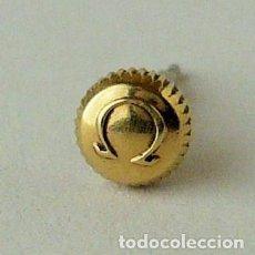 Recambios de relojes: CORONA OMEGA CHAPADA EN ORO. Lote 116115167