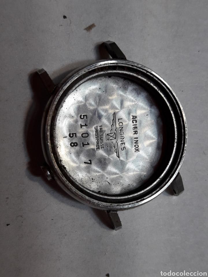 CAJA ANTIGUA RELOJ LONGINES ORIGINAL (Relojes - Recambios)