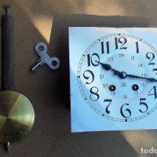 Recambios de relojes: ANTIGUA MAQUINARIA JAPY FRERES DE FRANCIA PARA RELOJ REGULADOR- AÑO 1920- FUNCIONA. Lote 146059036