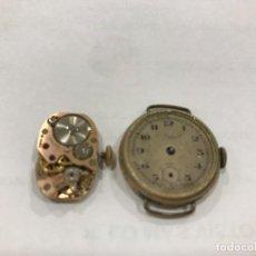 Recambios de relojes: ANTIGUO RELOJ C. COPPEL Y MAQUINARIA. Lote 116453263