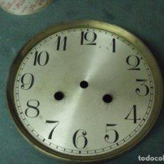 Recambios de relojes: ANTIGUA ESFERA DE CHAPA PARA RELOJ REGULADOR- PARA RESTAURAR O PIEZAS- LOTE 92. Lote 116490395