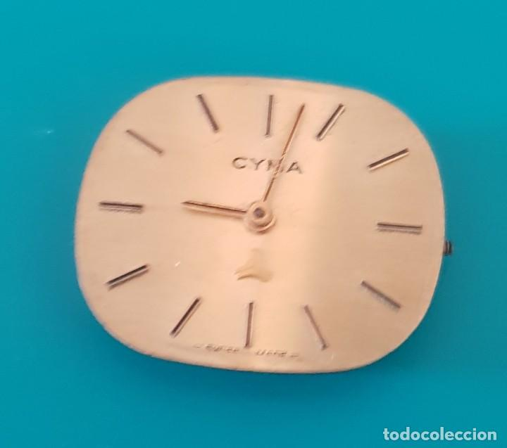 MAQUINARIA PARA PIEZAS RELOJ CYMA (Relojes - Recambios)