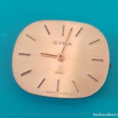 Recambios de relojes: MAQUINARIA PARA PIEZAS RELOJ CYMA. Lote 116825791