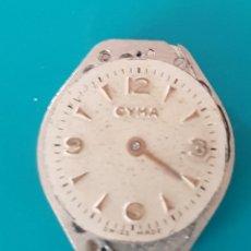 Recambios de relojes: MAQUINARIA PARA PIEZAS RELOJ CYMA . Lote 116826327