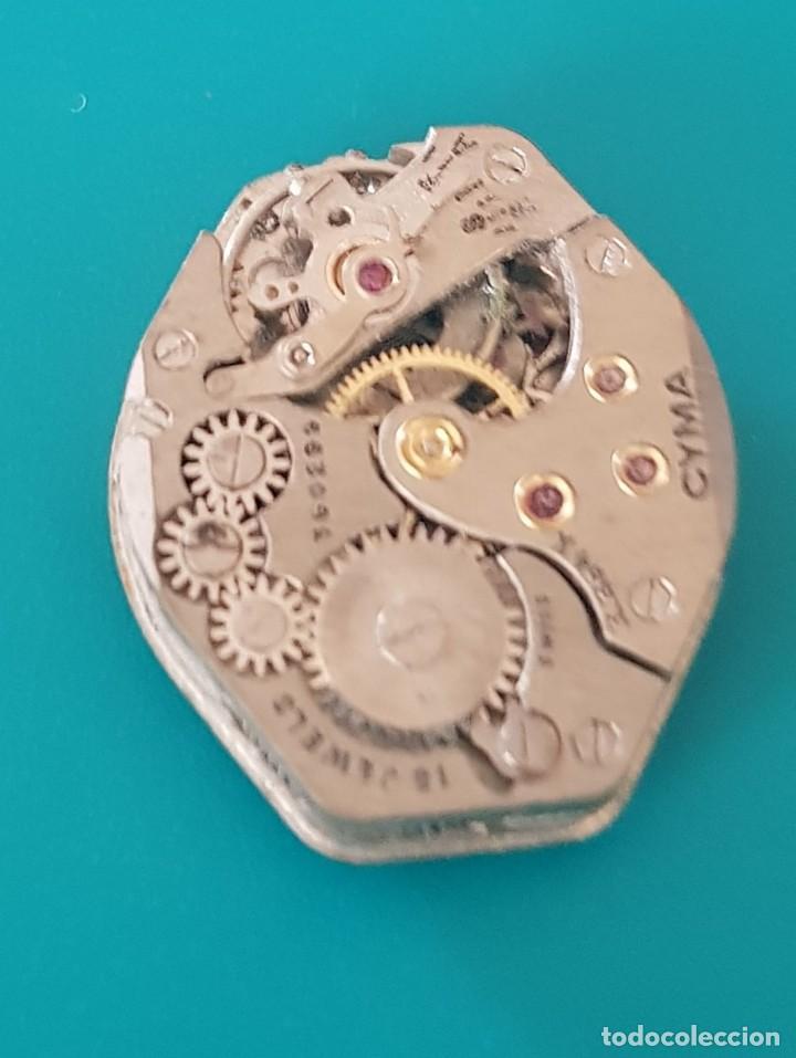 Recambios de relojes: MAQUINARIA PARA PIEZAS RELOJ CYMA - Foto 2 - 116826327