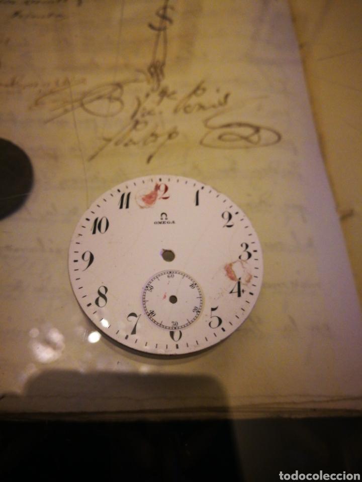 ESFERA OMEGA RELOJ DE BOLSILLO. 40 MM. (Relojes - Recambios)