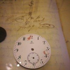 Recambios de relojes: ESFERA OMEGA RELOJ DE BOLSILLO. 40 MM.. Lote 117383587