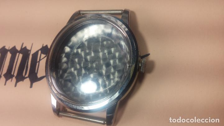 Recambios de relojes: Caja completa Omega, tapa trasera, corona y cristal todo sellado Omega, para reloj caballero - Foto 4 - 117388595