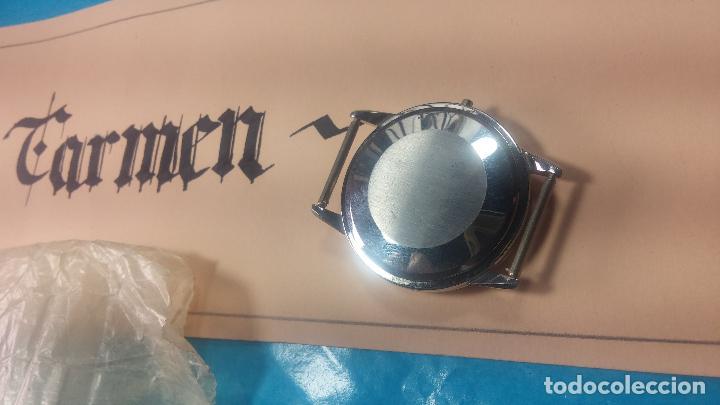 Recambios de relojes: Caja completa Omega, tapa trasera, corona y cristal todo sellado Omega, para reloj caballero - Foto 7 - 117388595