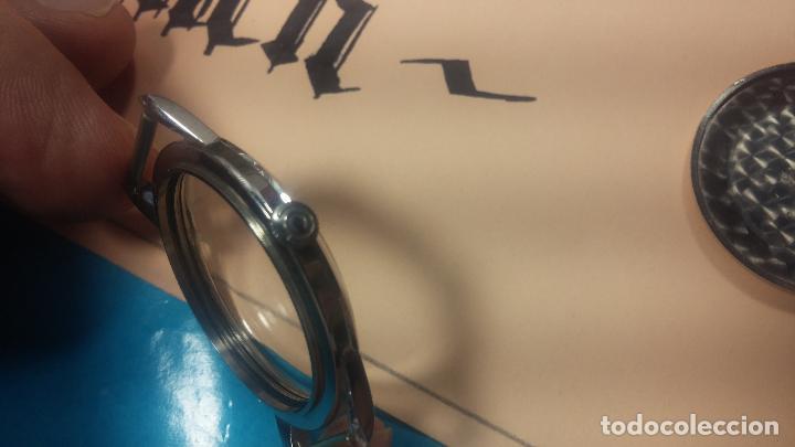 Recambios de relojes: Caja completa Omega, tapa trasera, corona y cristal todo sellado Omega, para reloj caballero - Foto 11 - 117388595