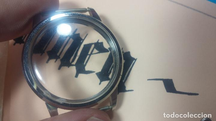 Recambios de relojes: Caja completa Omega, tapa trasera, corona y cristal todo sellado Omega, para reloj caballero - Foto 18 - 117388595