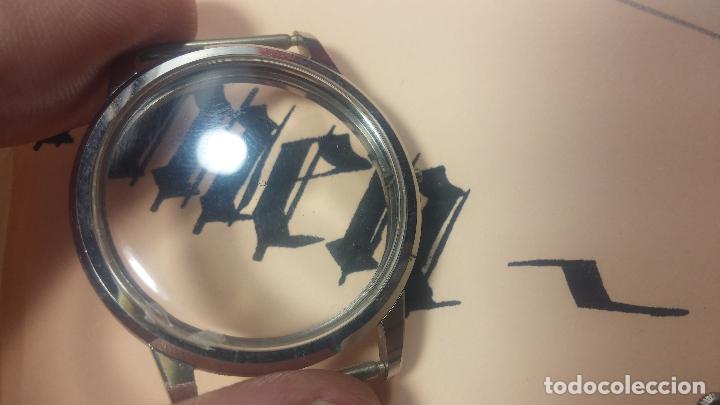 Recambios de relojes: Caja completa Omega, tapa trasera, corona y cristal todo sellado Omega, para reloj caballero - Foto 19 - 117388595