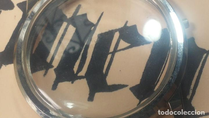 Recambios de relojes: Caja completa Omega, tapa trasera, corona y cristal todo sellado Omega, para reloj caballero - Foto 22 - 117388595