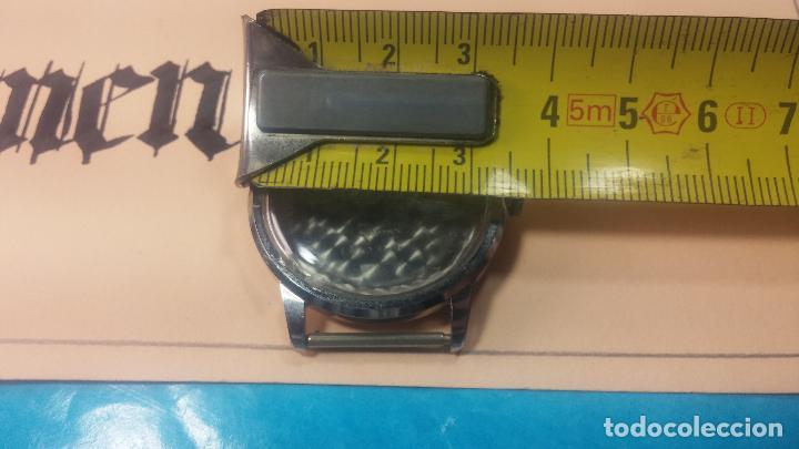 Recambios de relojes: Caja completa Omega, tapa trasera, corona y cristal todo sellado Omega, para reloj caballero - Foto 24 - 117388595