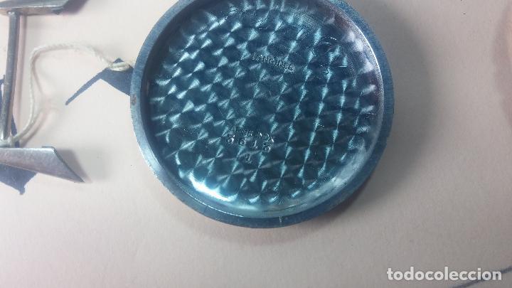 Recambios de relojes: Caja de reloj de caballero Longines, con su cristal, tapa, las patas de cogidas están despegadas - Foto 15 - 117396503