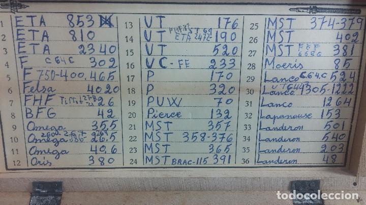 Recambios de relojes: GIGANTE ENORME lote de tijas, enorme, casi todos los botecitos llenos a rebosar, completisimo - Foto 27 - 117399731