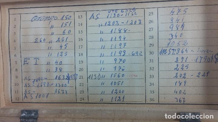 Recambios de relojes: GIGANTE ENORME lote de tijas, enorme, casi todos los botecitos llenos a rebosar, completisimo - Foto 55 - 117399731