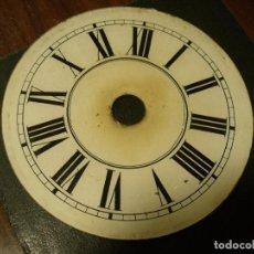 Recambios de relojes: ANTIGUA ESFERA DE CRISTAL PARA RELOJ RATERA DE LA SELVA NEGRA DE ALEMANIA- AÑO 1870- LOTE 94. Lote 117475751