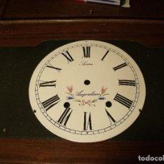 Recambios de relojes: ANTIGUA ESFERA PARA RELOJ MOREZ DE PESAS- AÑO 1880- Nº5. Lote 117626199