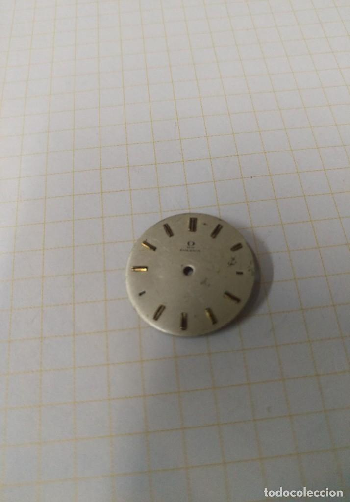 ESFERA RELOJ OMEGA 20,5 MM. (Relojes - Recambios)