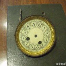 Recambios de relojes: UNA TAPA DELANTERA PARA RELOJ SOBREMESA MAQUINA PARIS- CON ESFERA Y CRISTAL- LOTE 41. Lote 118287023