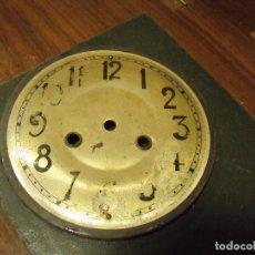 Recambios de relojes: ESFERA EN CHAPA PARA RELOJ REGULADOR- LOTE 94. Lote 118395747