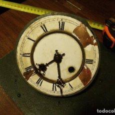 Recambios de relojes: ANTIGUA MAQUINARIA TOMAS HAUSER DE ALEMANIA PARA RELOJ ALFONSINO- LOTE 94. Lote 118396507