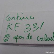 Recambios de relojes: CERTINA KF 331, EJES DE VOLANTE.. Lote 118590555