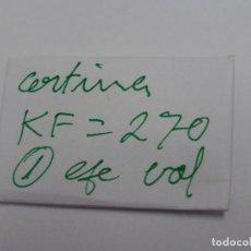 Recambios de relojes: CERTINA KF 270, EJE DE VOLANTE.. Lote 118590603