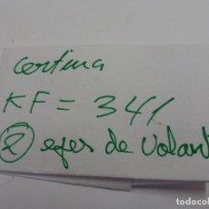 Recambios de relojes: CERTINA KF 341, EJES DE VOLANTE.. Lote 118590643