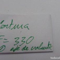 Recambios de relojes: CERTINA KF 330, EJES DE VOLANTE.. Lote 118590731